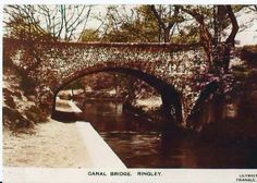 Folds Road bridge over the Manchester, Bolton & Bury canal at Ringley Fold Bolton Lancashire, Bury, Slate, Manchester, Bridge, Childhood, England, Victorian, Chalkboard
