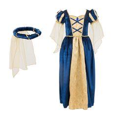 67bffe8bed2c6 Déguisement de Princesse Médiévale 3-5 ans Imagibul création Oxybul pour  enfant de 3 ans