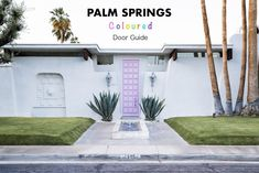 Palm Springs Coloured Door Guide – Lonely Hunter