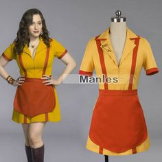 2015 tv show 2 broke girls costume max black costume max caroline waitress uniform halloween costume for women - High Quality Womens Halloween Costumes