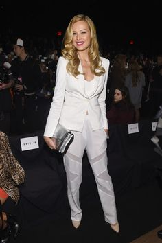 Petra Nemcova at BCBGMAXAZRIA during New York Fashion Week 2015