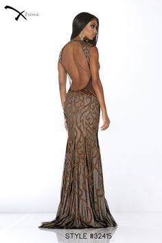 Xtreme Prom 2014 Collection style #32415 #prom #dress #lowback