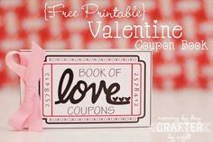 Adorable! Free printable valentine coupon book