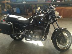 Everything start from here... Bmw r 100 r