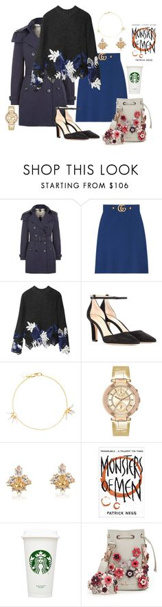 """Senza titolo #621"" by giu93 ❤ liked on Polyvore featuring Burberry, Gucci, 3.1 Phillip Lim, Gianvito Rossi, Zimmermann, Versus, Vivienne Westwood and Marina Hoermanseder"