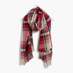 Scottsdale Plaid Scarf : | Madewell