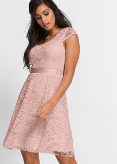 b0b10a401730 Šaty v neuvěřitelném výběru najdete online u bonprix. Společenské ŠatyDámská  MódaRóby. Žerzejové šaty s krajkou
