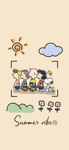 Cute Pastel Wallpaper, Kawaii Wallpaper, Disney Wallpaper, Locked Wallpaper, Aesthetic Iphone Wallpaper, Peanuts Dance, Diy Postcard, Snoopy Wallpaper, Drawing Wallpaper