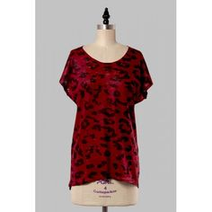 Leopard In Burgundy Top is also comes is Teal . Free shipping!! Only on detailsOnlineBoutique.com :) get yours!!