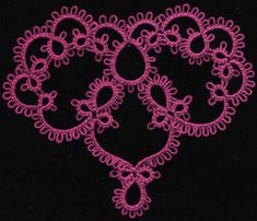 I was thinking about the tatting patterns I've done in the past, and realized that most everything was based on tatting in a circle or an oval. So I thought I'd try my hand at designing…