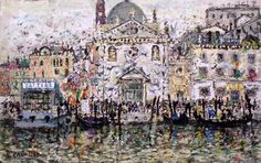 325 - Venezia - Alle Zattere - 50 x 80