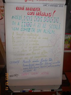 Profesor învăţământ primar CUCOŞ OANA DIANA: Mesajul zilei Class Decoration, Blog Page, Kindergarten Activities, Anchor Charts, Worksheets, Diy And Crafts, Homeschool, Parenting, Bullet Journal