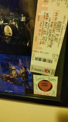 Robert plant concert,a night with Zepplin..Salt lake City