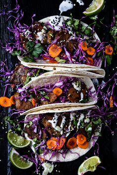 Korean-Style Tacos, made with Sweet Earth Brand Traditional Seitan ( bonus news!)