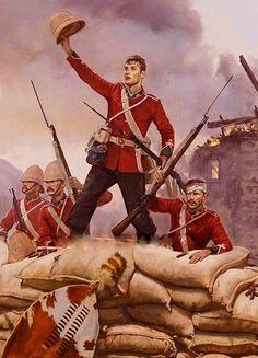 Battle of Isandlwana Rorkes Drift British Army Uniform, British Uniforms, Zulu, Military Art, Military History, Military Uniforms, British Armed Forces, War Image, British Colonial