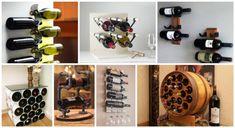 Idei ingenioase DIY pentru confectionarea unui suport pentru sticlele de vin
