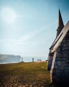 Etretat, Normandie, France by Traveler's Child