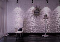Einzigartige Wohnzimmer Wandgestaltung mit 3D Wandpaneele Bambonello Prisma von Panelprince. #bambonello #panelprince #Wohnzimmerwand #3dwand Modern, 3d, Lighting, Design, Home Decor, Wall Cladding, Wall Design, Living Room, Deko