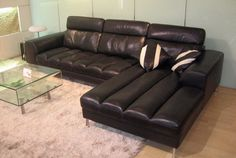 Stylish Design Furniture - BO3933  Leather Sectional Sofa, $2,040.00 (http://www.stylishdesignfurniture.com/products/bo3933-leather-sectional-sofa.html)