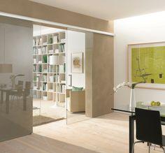 Stylish internal sliding glass door #slimline #lightweight