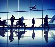 Beacons kommen am Hamburger Flughafen zum Einsatz - Mehr Infos zum Thema auch unter http://vslink.de/internetmarketing