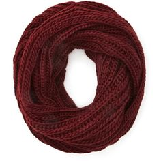 Forever 21 Forever 21 Purl Knit Infinity Scarf (176.900 IDR) ❤ liked on Polyvore featuring accessories, scarves, forever 21, tube scarf, infinity loop scarf, lightweight scarves and infinity circle scarf