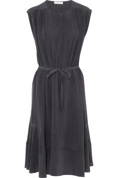 See by Chloé|Washed-silk dress|NET-A-PORTER.COM