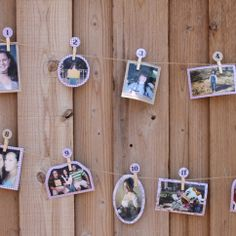 Bridal Shower Game - Guess the Bride's Age Game *Not much for shower games, but this is sweet & sentimental.
