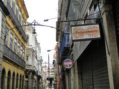 Rio de Janeiro, Brasil - Rua do Ouvidor (centro histórico)