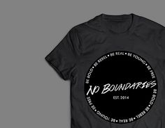 "Check out new work on my @Behance portfolio: ""Branding: No Boundaries Clothing"" http://be.net/gallery/32654825/Branding-No-Boundaries-Clothing"