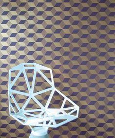 Squares | Papier peint des années 70