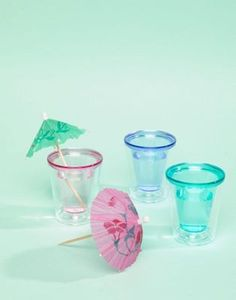 Shop Typo Pack of 3 Shot Glasses at ASOS. Glasses Trends, Secret Santa Gifts, Shot Glasses, Typo, Martini, Glass Of Milk, How To Find Out, Asos, Packing
