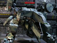 Ok, I know its not gundam but it is the Rex from MGS. Very well done.