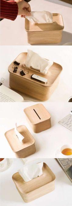 Round Basics 4-Piece Bamboo Vanity Set