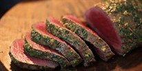 Beef Fillet with Salsa Verde