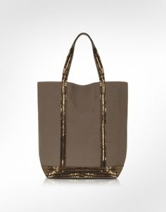 Vanessa Bruno Long Handled Sequined Tote Bag