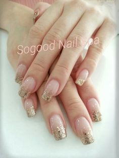 #Acrylic Extention#gelish gitter