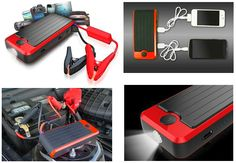 The PowerAll Portable Power Bank and Car Jump Starter is a power bank for your mobile devices AND can be used to jump start your car in an emergency. GetdatGadget.com