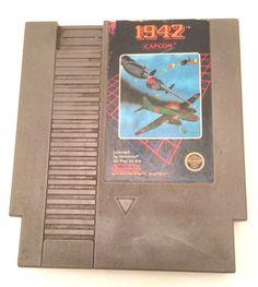 1942 Game Cartridge Nintendo NES 1985