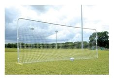 Keep your rebounder net in like-new condition with the SSG / BSN 1076127 Trainer / Rebounder Replacement Net. The net is simple to install with its sturdy nylon sleeves. Soccer Trainer, Best Home Gym Equipment, Sports Trainers, Rebounding, Soccer Ball, Goals, Spikes