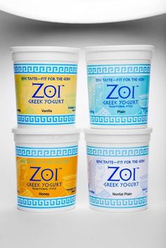 Convenience for your daily odysseys Stack Zoi® up in your fridge like a Greek column of beauty…then savor the goodness, one cup at a time. And revel in the convenience of on-the-go packaging for all your daily odysseys.