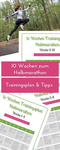 Willst du deinen ersten Halbmarathon bestreiten oder hast kurzfristig entschieden, bei einem Wettkampf zu starten? Dieser Plan macht dich in 10 Wochen fit.