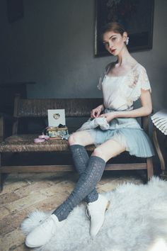 emily in couch flower 3 vip by val on deviantart photography pinterest. Black Bedroom Furniture Sets. Home Design Ideas
