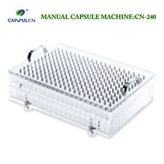 Manual filler machines CN-240 manual operated customized for the size #000#00#0#1#2#3#4#5( stainless steel, not easily rusty) #Affiliate