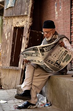 Sunday Morning in Old Lahore
