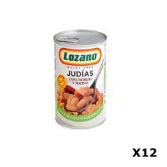 Bestelling Bonen met chorizo PN400 Gr  - Lozano
