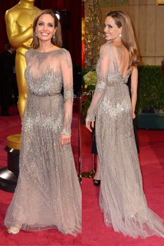 Angelina Jolie at the Oscars - The Glitter Guide