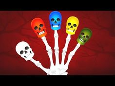 Download Skeleton Finger Family Compilation | Learning Colors Song For Kids | Funny Colors Skeleton Rhymes.3gp .mp4 | NaijaLoyal.Com.Ng