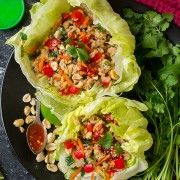 Thai Chicken lettuce Wraps | Cooking Classy