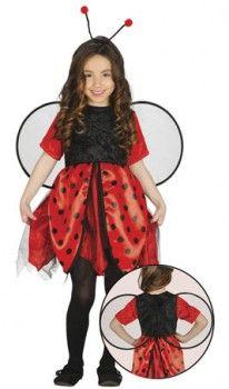 Disfraz de Mariquita Topos infantil